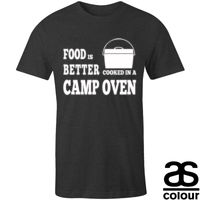 Food Is Better in a camp oven | Mens Thumbnail
